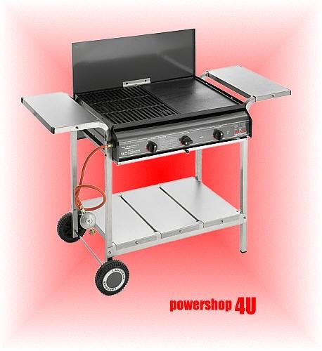 landmann grill gasgrill grillwagen edelstahl 12215 neu ebay. Black Bedroom Furniture Sets. Home Design Ideas
