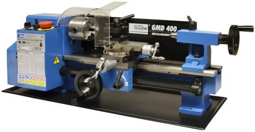 GMD 400 Mini Drehmaschine GMD400 Drehbank Metalldrehmaschine 48132 NEU