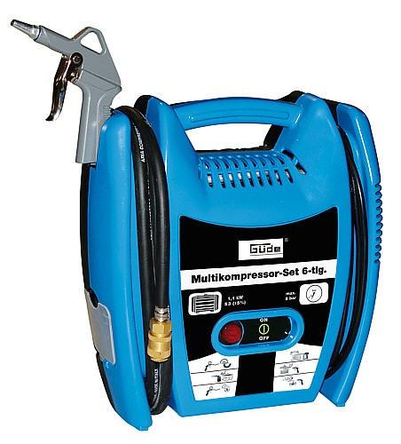 50077 Multikompressor 6-tlg. Kompressor mobil NEU