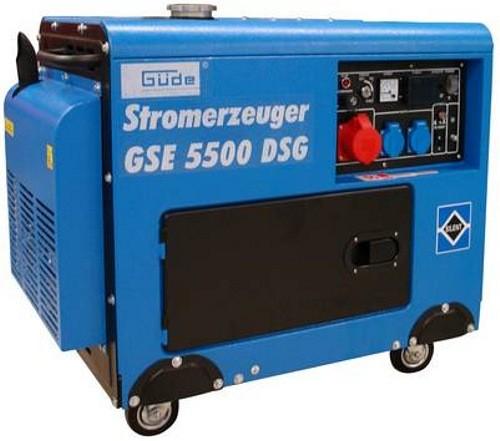g de stromerzeuger gse5500 dsg diesel generator 7 35 kw 10 ps neu haus garage stromerzeuger. Black Bedroom Furniture Sets. Home Design Ideas